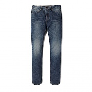 WASHED DENIM ES [BLUE]
