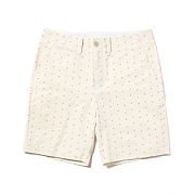 ANCHOR PATTERN SHORTS [IVORY]