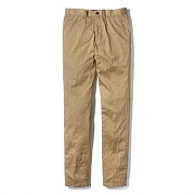 WASHED CHINO PANTS-BEIGE