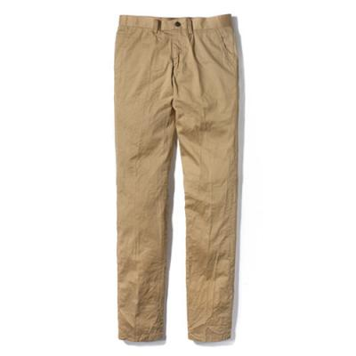 WASHED CHINO PANTS [BEIGE]