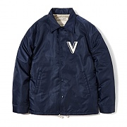 COACH JACKET EA [NAVY]