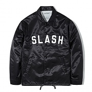 SLASH COACH JACKET FS [BLACK]