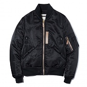 MA-1 JACKET ES [BLACK/BROWN]