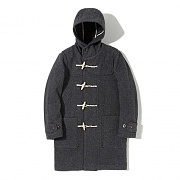 LONG DUFFLE COAT EA [GREY]