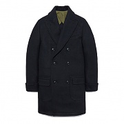 POLO COAT DA [BLACK]