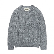 KNIT CREWNECK ES [GREY]