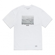 WEEKEND T-SHIRT FS-WHITE