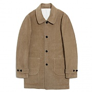 COTTON SINGLE COAT[BEIGE]