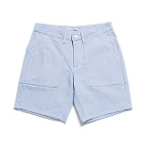 "BRIGHT WORK SHORTS ""PALE BLUE"""