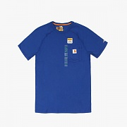 (100410)M FORCE COTTON DELMONT SS T SHIRT -489N.BLU