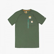 (100410)M FORCE COTTON DELMONT SS T SHIRT -316MOSS