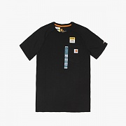 (100410)M FORCE COTTON DELMONT SS T SHIRT -001BLK