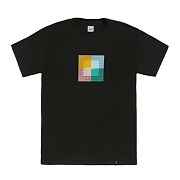 COLORS PAISLEY BOX LOGO TEE-BLK
