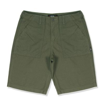 RIPSTOP FATIGUE SHORTS-OLIVE