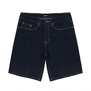 REGULAR FIT DENIM SHORTS-INDIGO
