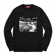 ANTIHERO POPE CREWNECK-BLACK