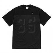 LAYERED MESH T-SHIRTS FS [BLACK]