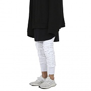 Shirring Jogger Pants-WHITE