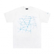 CITY INTERSECT TEE-WHT