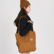 ESSENTIALS TOTE-CARHARTT BROWN