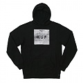 CONCRETE BOX LOGO PULLOVER FLEECE-BLK