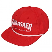 ROPE SNAPBACK-RED