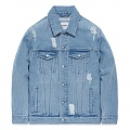 CRUSHED DENIM JACKET FA [ICE BLUE](FAVJ11)