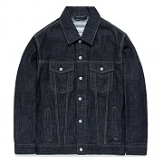 FAV10 WASHED DENIM JACKET FA [INDGO]