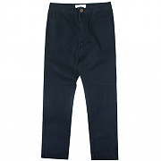 18 WASHED VINTAGE FATIGUE PANTS-NAVY