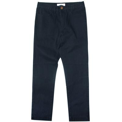16 WASHED VINTAGE FATIGUE PANTS-NAVY