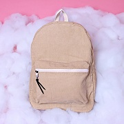 ALICE CORDUROY DAY PACK (BEIGE)
