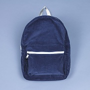 ALICE CORDUROY DAY PACK (NAVY)