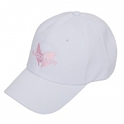 BUTTERFLY SOFT CAP WHITE