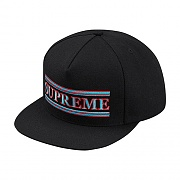 Stripes 5-Panel - Black