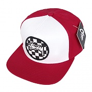 CHECKER LOGO CAP-RED