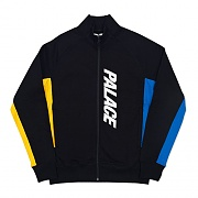 MIX UP TRACK TOP - BLACK