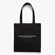 P.P.P MARKET BAG (BLACK)