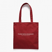 P.P.P MARKET BAG (DARK RED)