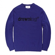 FAVK01-DROWNING KNIT FA [PURPLE]