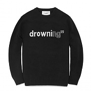 FAVK01-DROWNING KNIT FA [BLACK]
