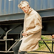 OVERSIZE MAC COAT-BEIGE