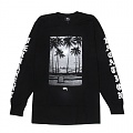 PERMANENT VACATION LS TEE-BLACK