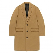 OVERSIZE CHESTERFIELD COAT FA [BEIGE](FAVJ01)
