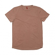 OVR16T1019-TOME.1 PIGMENT LONG LAYERED BROWN LONG TEE