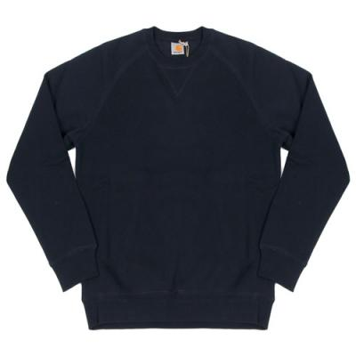 (I015896) CHASE SWEATSHIRT-NAVY/GOLD