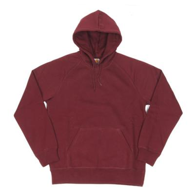 (I015897) HOODED CHASE SWEATSHIRT-CHIANTI