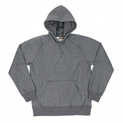 (I015897) HOODED CHASE SWEATSHIRT-DARK GREY HEATHER