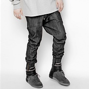 TWIST JOGGER PANTS BLACK