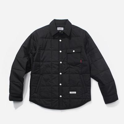 FW QUILTED JACKET-BLACK