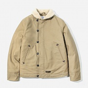 16A/W DECK JACKET-BEIGE